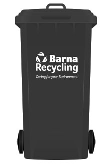 Barna Recycling Black Bin