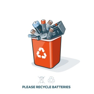 Batteries safe disposal in Galway with Barna Recycling