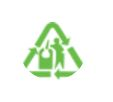 Glass recycling logo