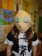 <h5>Largy National School</h5><p>Spooky Recyclables Halloween masks made by the pupils in Largy NS.</p>