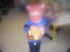 <h5>Cornafulla NS, Athlone, Co Roscommon. </h5><p>The children in Infants and 1st class made masks out of recyclable materials. Children in 2nd-6th made Halloween decorations out of recyclable materials. The Junior Infants made masks and the Halloween decorations that Mrs Quigley's 3rd Class made. </p>
