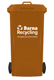 Barna Recycling Brown Bin
