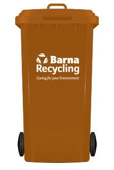 Barna Recycling Brown Bin
