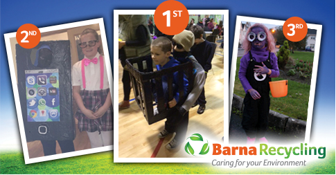 Barna Recycling 2014 Halloween competition winners
