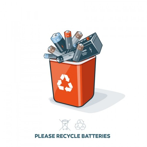 How To Dispose Of Batteries >> Battery Waste Disposal Guide | Barna Recycling