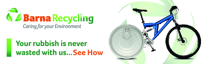 Recycled aluminium cans used to make bicycles